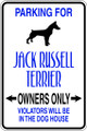 Wall Decals and Stickers - Jack Russel Terrier