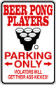Wall Decals and Stickers - Beer Pong Players