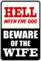 Wall Decals and Stickers - Hell with the Dog