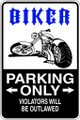 Wall Decals and Stickers - Biker