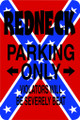 Wall Decals and Stickers - Redneck Parking