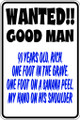 Wall Decals and Stickers - Wanted Good Man