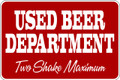 Wall Decals and Stickers - Used Beer