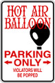 Wall Decals and Stickers - Hot Air Balloon