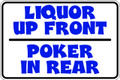 Wall Decals and Stickers - Liquor Poker