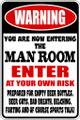 Wall Decals and Stickers - Man Room