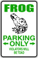 Wall Decals and Stickers - Frog Parking
