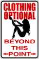 Wall Decals and Stickers - Clothing Optional