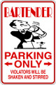 Wall Decals and Stickers - Bartender