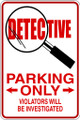 Wall Decals and Stickers - Detective