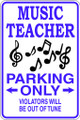 Wall Decals and Stickers - Music Teacher