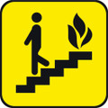 Wall Decals and Stickers - Fire Exit