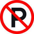 Wall Decals and Stickers - No Parking Zone