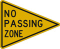 Wall Decals and Stickers - No Passing Zone