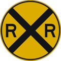 Wall Decals and Stickers - Railroad Ahead