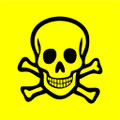 Wall Decals and Stickers - Poison Sign Yellow
