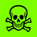 Wall Decals and Stickers - Poison Sign Green