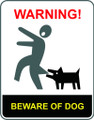 Wall Decals and Stickers - Beware of Dog