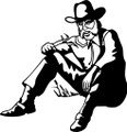 Wall Decals and Stickers - Old Cowboy