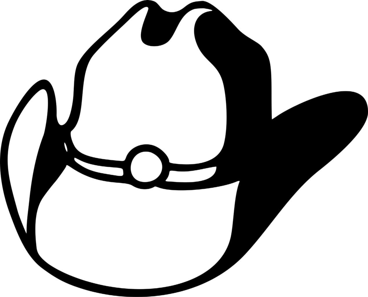 6daa8b42 Wall Decals and Stickers - Cowboy Hat