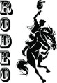 Wall Decals and Stickers - Rodeo Pride