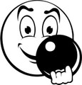 Wall Decals and Stickers - Funny Face Play Bowling