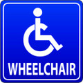 Wall Decals and Stickers - Wheelchair
