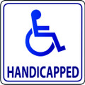 Wall Decals and Stickers - Handicapped