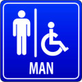 Wall Decals and Stickers - Men's Restrooms