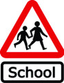 Wall Decals and Stickers - Please Slow Down School Zone