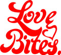 Love Bites Decal  -  Love  -  Wall Decals & Stickers