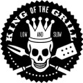 King Of The Grill Decal  -  Kitchen  -  Wall Decals & Stickers