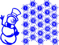 Snowman Holiday - Wall Decals & Stickers
