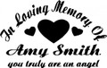 Wall Decals and Stickers - In memory of (4)