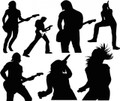 Wall Decals and Stickers - Guitar singers