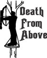 Death From Above Animal Game Hunter Wild Outdoor Boys Adventure - Home Decor Room Sticker - Vinyl Wall Decal - 24 Colors Available - BEST BUY 10x10