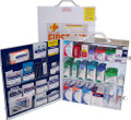 3 Shelf Metal Full First Aid Cabinet