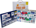2 Shelf Metal Full First Aid Cabinet