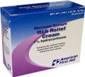 Hydrocortisone Itch Cream 1%, 1/32 oz. 25 Ct Box