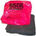 "Rescue Blanket with Case - 72""x80"""