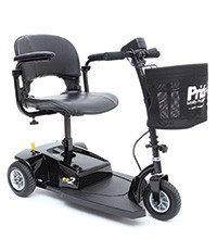 The new Go-Go® ES 2 from Pride® brings exceptional value and easy transportation together in a compact, lightweight package. The stylish Go-Go® ES 2 has a weight capacity of 250 lbs. and a convenient canvas basket located on the tiller.