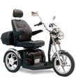 The Sport Rider 3-wheel scooter from Pride® combines power, comfort, and style.