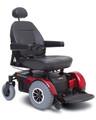 The Jazzy® 1450 is a front-wheel drive bariatric power base which has a weight capacity of 600 lbs.