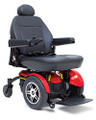 The Jazzy® Elite 14 offers a 300 lbs. weight capacity and excellent performance in a stylish, highly maneuverable package.