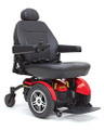 The Jazzy® Elite HD offers heavyduty construction, a 450 lbs. weight capacity, and excellent performance in a stylish, highly maneuverable package.