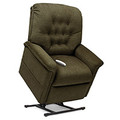 Part of Pride's Serenity Lift Chair Collection, the SR-358L is a 3-Position Full Recline, Chaise Lounger