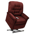 Part of Pride's Serenity Lift Chair Collection, the SR-358S is a 3-Position Full Recline, Chaise Lounger