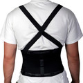 Support, Back, w/Suspenders, Black