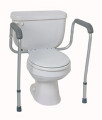 Rail, Toilet Safety, Foldable, 250 LB Weigh Capacity