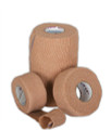"Bandage, Co-Flex, Cohesive, Self-Adherent Wrap, Tan, 1"" X 5 YD"